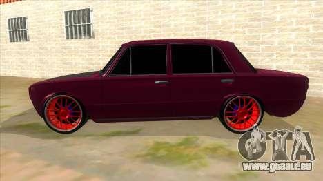 VAZ 2101 Chien pour GTA San Andreas laissé vue