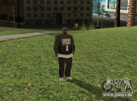 Black fam1 für GTA San Andreas