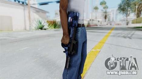 P90 Camo3 pour GTA San Andreas troisième écran