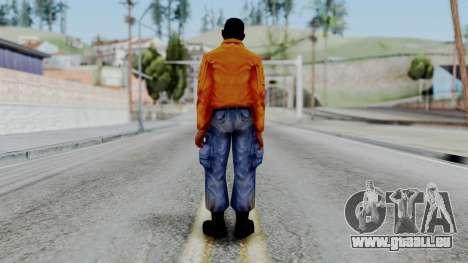 CS 1.6 Hostage 03 pour GTA San Andreas troisième écran