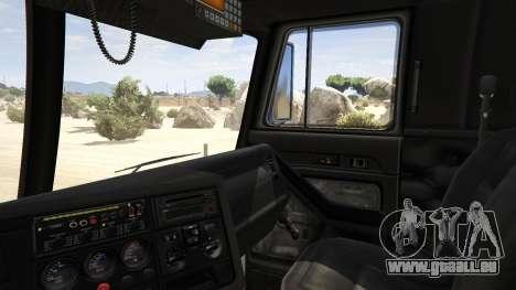 GTA 5 Los Angeles Fire Truck hinten rechts