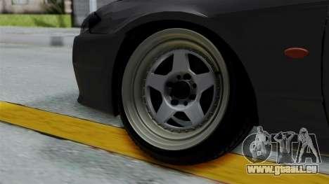 Nissan Silvia S14 Stance für GTA San Andreas zurück linke Ansicht