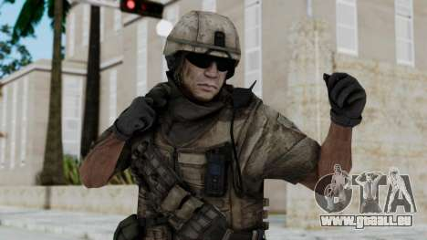 Crysis 2 US Soldier 1 Bodygroup B pour GTA San Andreas