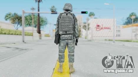Acu Soldier 2 pour GTA San Andreas troisième écran