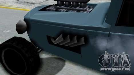 Wrench Rod pour GTA San Andreas vue de droite