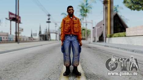 CS 1.6 Hostage 03 pour GTA San Andreas deuxième écran