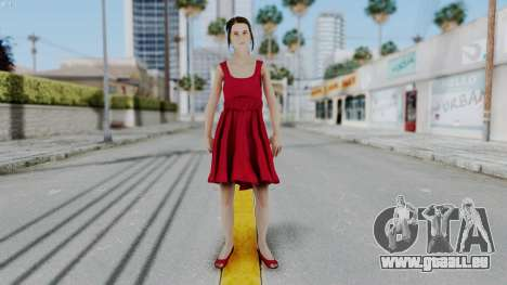 Hermione Dress für GTA San Andreas zweiten Screenshot