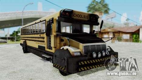 Armored School Bus pour GTA San Andreas
