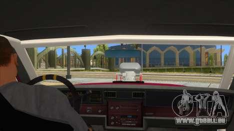 1984 Chevrolet Impala Drag pour GTA San Andreas vue intérieure