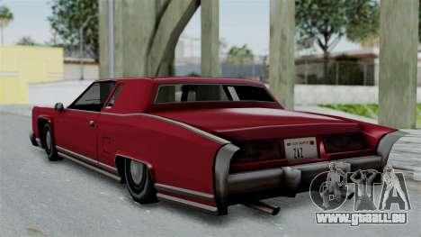 Remington Las Vivas pour GTA San Andreas vue de droite