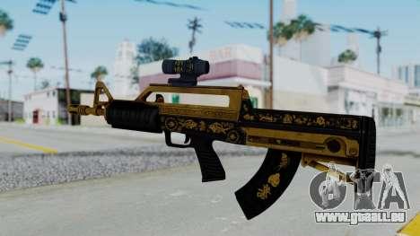 GTA 5 Online Lowriders DLC Bullpup Rifle pour GTA San Andreas deuxième écran