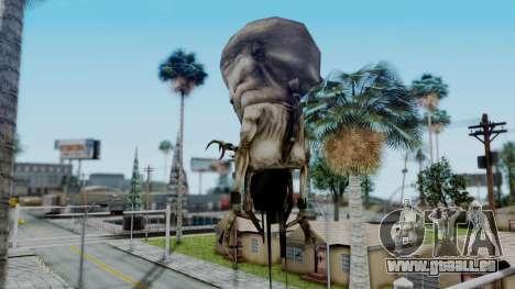 Nihilanth (Final Boss) from Half Life pour GTA San Andreas deuxième écran
