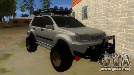 Nissan X-Trail 4x4 Dirty by Greedy für GTA San Andreas Rückansicht