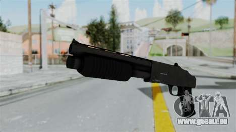 GTA 5 Sawnoff Shotgun pour GTA San Andreas deuxième écran
