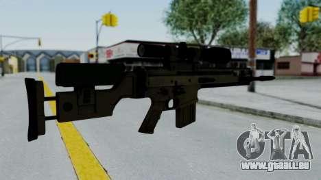 SCAR-20 v2 No Supressor für GTA San Andreas zweiten Screenshot