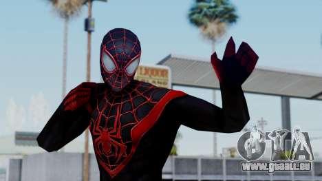Marvel Future Fight Spider Man Miles v2 für GTA San Andreas