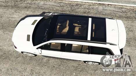 GTA 5 Mercedes-Benz GL63 (X166) AMG Rückansicht