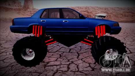 2003 Ford Crown Victoria Monster Truck für GTA San Andreas Räder