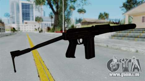 9A-91 Suppressor für GTA San Andreas zweiten Screenshot