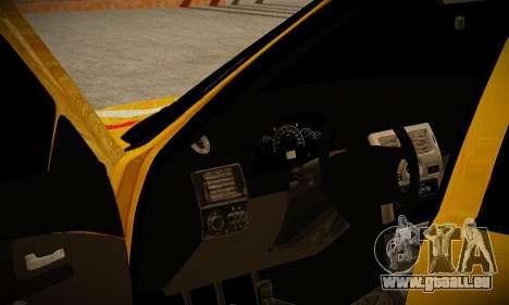 Lada 2170 Priora Gold für GTA San Andreas zurück linke Ansicht