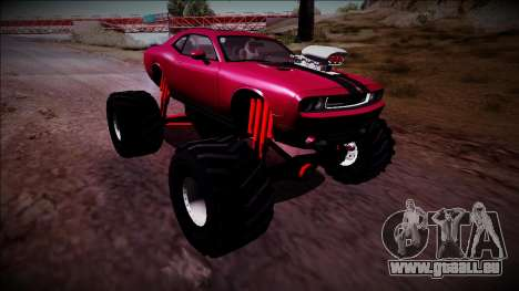 2009 Dodge Challenger SRT8 Monster Truck für GTA San Andreas