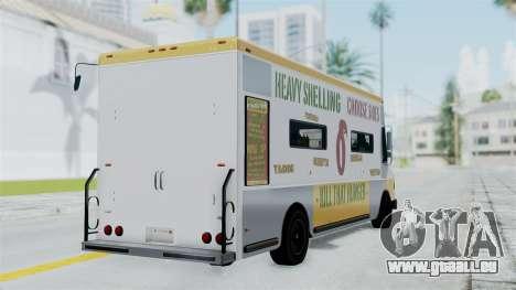 GTA 5 Tacovan für GTA San Andreas linke Ansicht