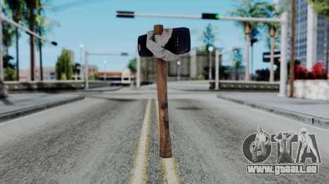 Nokia 3310 Hammer für GTA San Andreas zweiten Screenshot