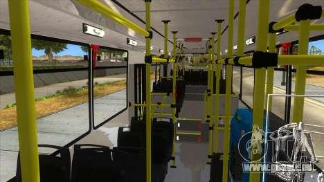 TodoBus Pompeya II Agrale MT15 pour GTA San Andreas vue de côté