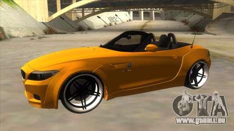 BMW Z4 Liberty Walk Performance für GTA San Andreas linke Ansicht