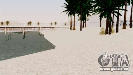 New Beach Textures pour GTA San Andreas