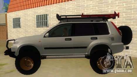 Nissan X-Trail 4x4 Dirty by Greedy für GTA San Andreas linke Ansicht
