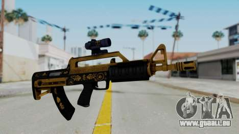 GTA 5 Online Lowriders DLC Bullpup Rifle pour GTA San Andreas