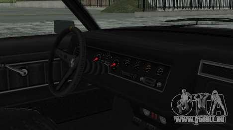 GTA 5 Nightshade pour GTA San Andreas vue de droite
