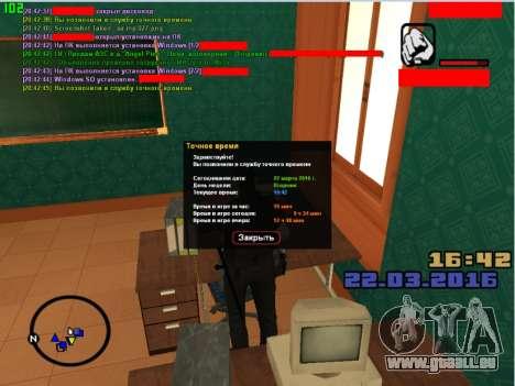 Le jeu de rôle emplois pour GTA San Andreas