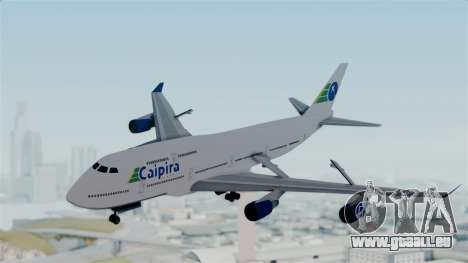 GTA 5 Jumbo Jet v1.0 Caipira Air pour GTA San Andreas sur la vue arrière gauche