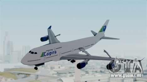 GTA 5 Jumbo Jet v1.0 Caipira Air für GTA San Andreas zurück linke Ansicht
