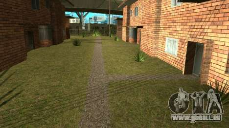 Nouvelle cachette de salions pour GTA San Andreas deuxième écran