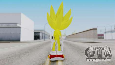 Super Sonic The Hedgehog 2006 für GTA San Andreas dritten Screenshot