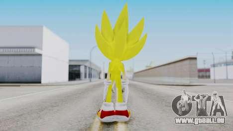 Super Sonic The Hedgehog 2006 pour GTA San Andreas troisième écran