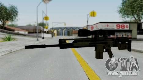 SCAR-20 v2 No Supressor für GTA San Andreas