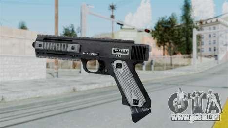 GTA 5 AP Pistol - Misterix 4 Weapons für GTA San Andreas zweiten Screenshot