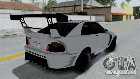 GTA 5 Karin Sultan RS Drift Double Spoiler PJ pour GTA San Andreas
