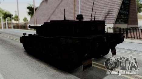 Point Blank Black Panther Rusty IVF für GTA San Andreas linke Ansicht