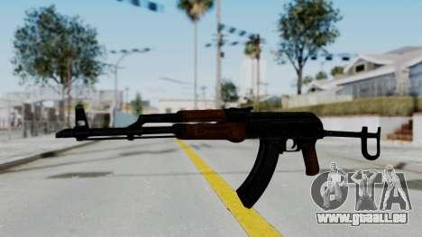 New HD AK-47 pour GTA San Andreas