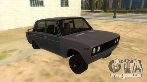 VAZ 2106 Drift Edition pour GTA San Andreas vue arrière
