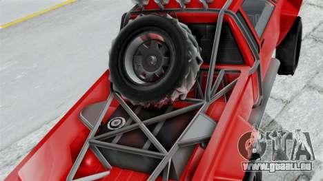 GTA 5 Karin Rebel 4x4 pour GTA San Andreas vue arrière