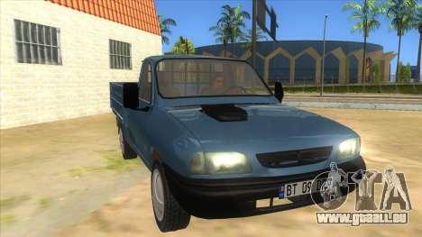 Dacia 1305 Drop-Side für GTA San Andreas Rückansicht