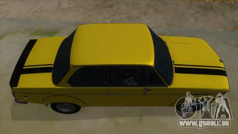 1974 BMW 2002 turbo v1.1 pour GTA San Andreas vue de côté
