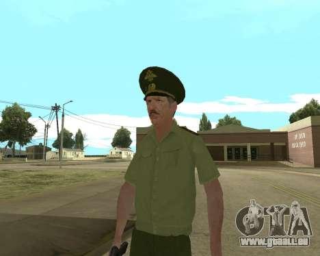 Senior warrant officer danyluk für GTA San Andreas fünften Screenshot
