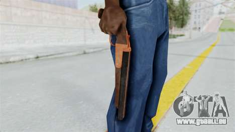 Double Barrel Shotgun Orange Tint (Lowriders CC) für GTA San Andreas